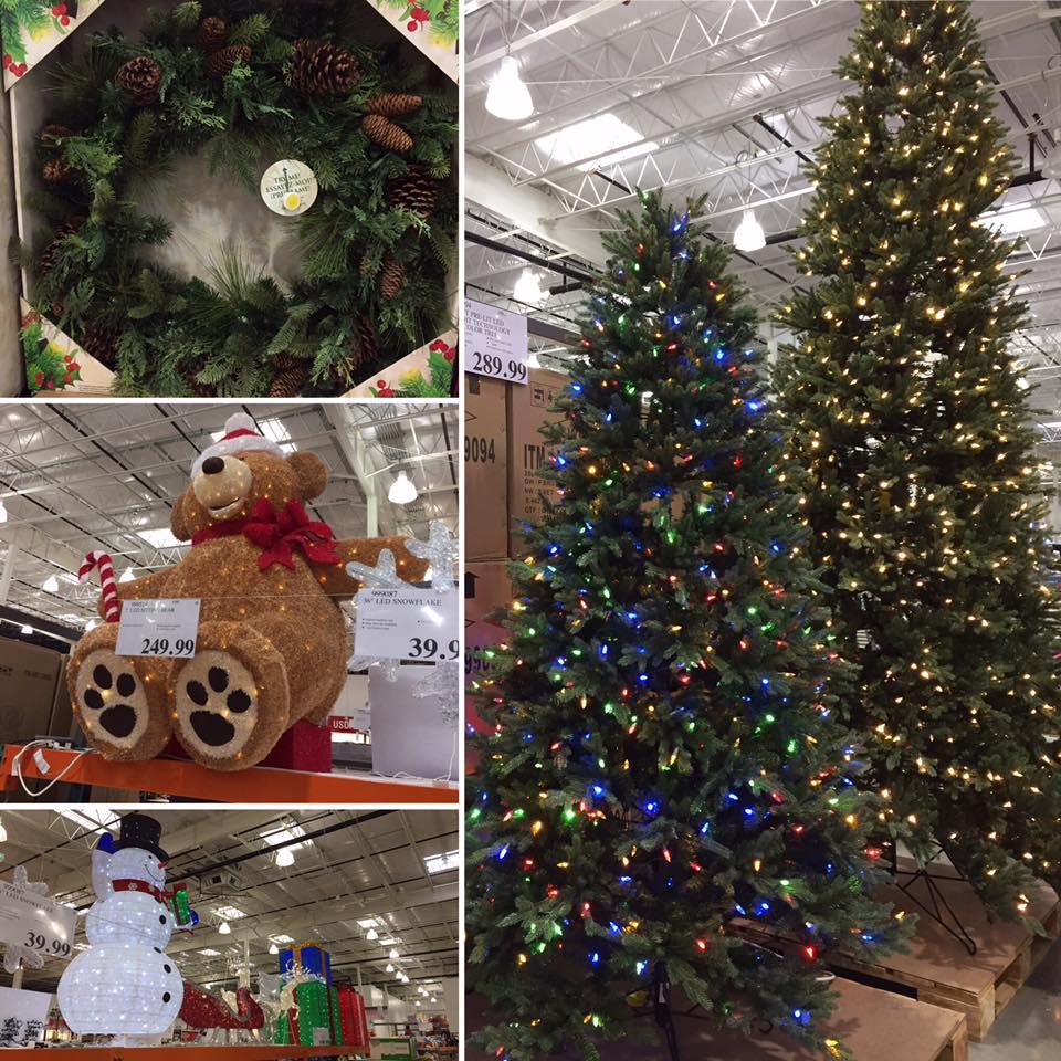 Costco Mom Hour Christmas Display