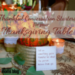 Thankful Conversation Starters For Your Thanksgiving Table