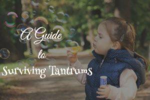 Surviving Tantrums - Collin County Moms Blog