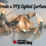 Create a DIY Lighted Garland