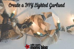 Create a DIY Lighted Garland