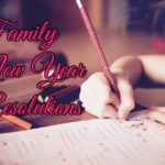 Family New Year Resolutions