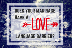 Different Love Languages