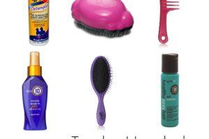 tender headed hair tips