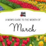 A Collin County Mom's Guide to the Month of March 2017