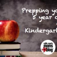 Tips for prepping your 5 year old for kindergarten