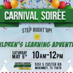 A Carnival Soiree at Children's Learning Adventure-McKinney {FREE EVENT ANNOUNCEMENT!}