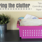 Clearing the Clutter: Tips for Controlling School Paper Piles