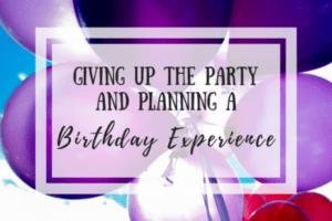 Birthday Experience