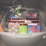 10 Things Every Mom Needs in Her Vehicle