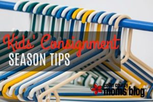 KIDS CONSIGNMENT SEASON TIPS