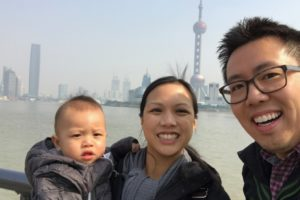 Family Picture during our trip to Shanghai in February