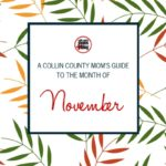 A Collin County Mom's Guide to the Month of November