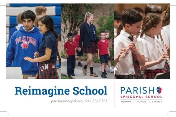 Parish Episcopal School - Featured Image