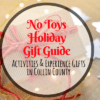 No Toys Gift Guide