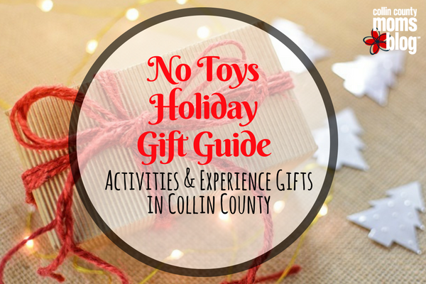 No Toys Gift Guide: Gifting Experiences in Collin County