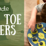 Homemade Game: Tic Tac Toe Critters