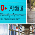 106 FREE things to do with Kids this July