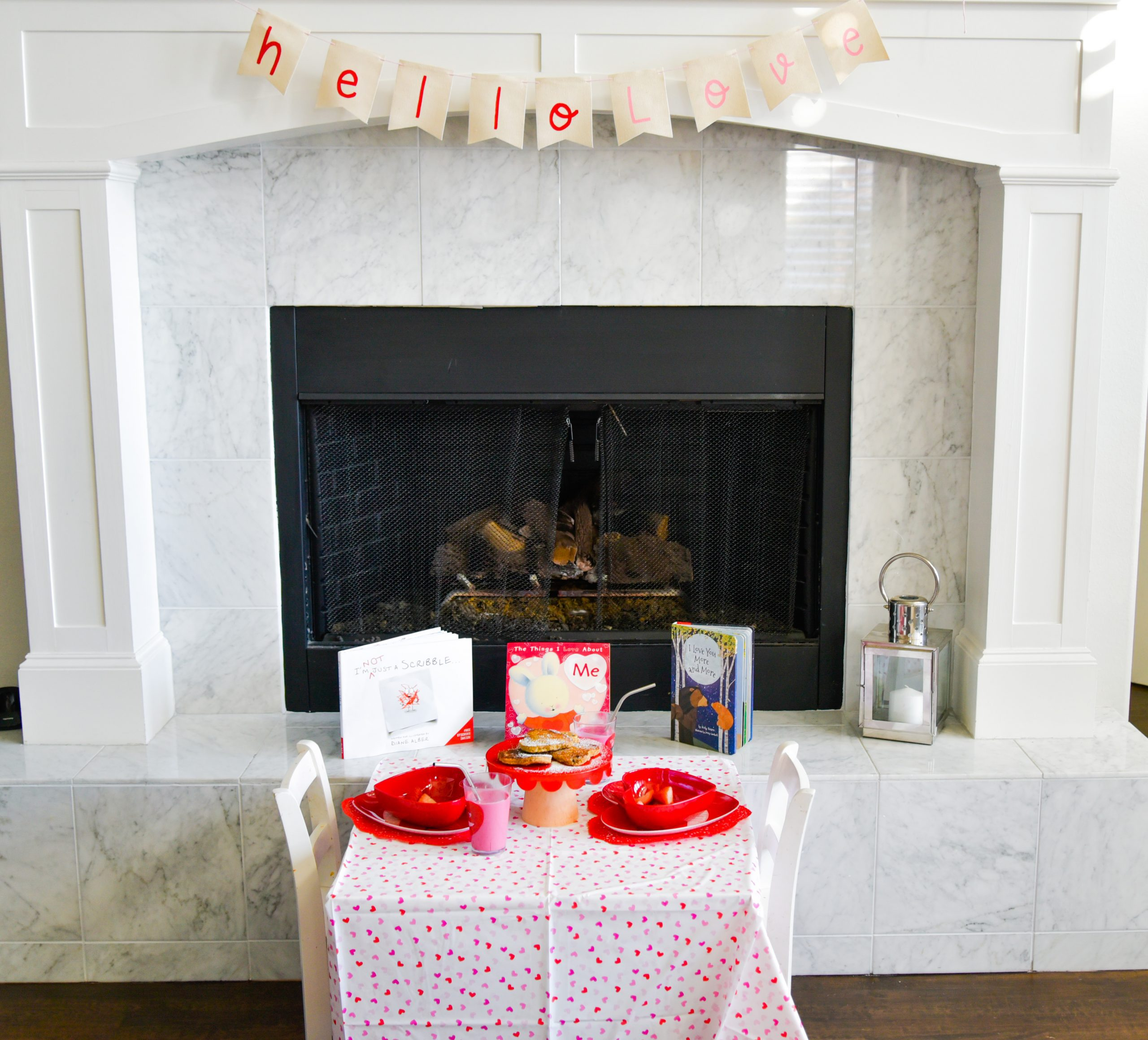 Valentine's Day Kids Table