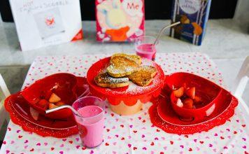 Valetine's Breakfast Table