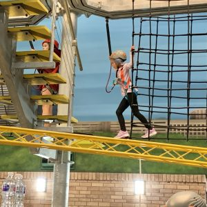 Ropes Course at KidZania