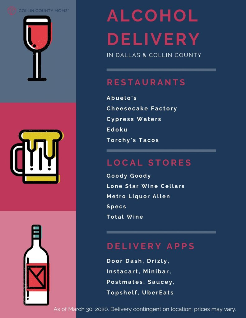 alcohol delivery in collin county