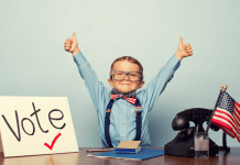Fun tips tp get your kids excited about voting