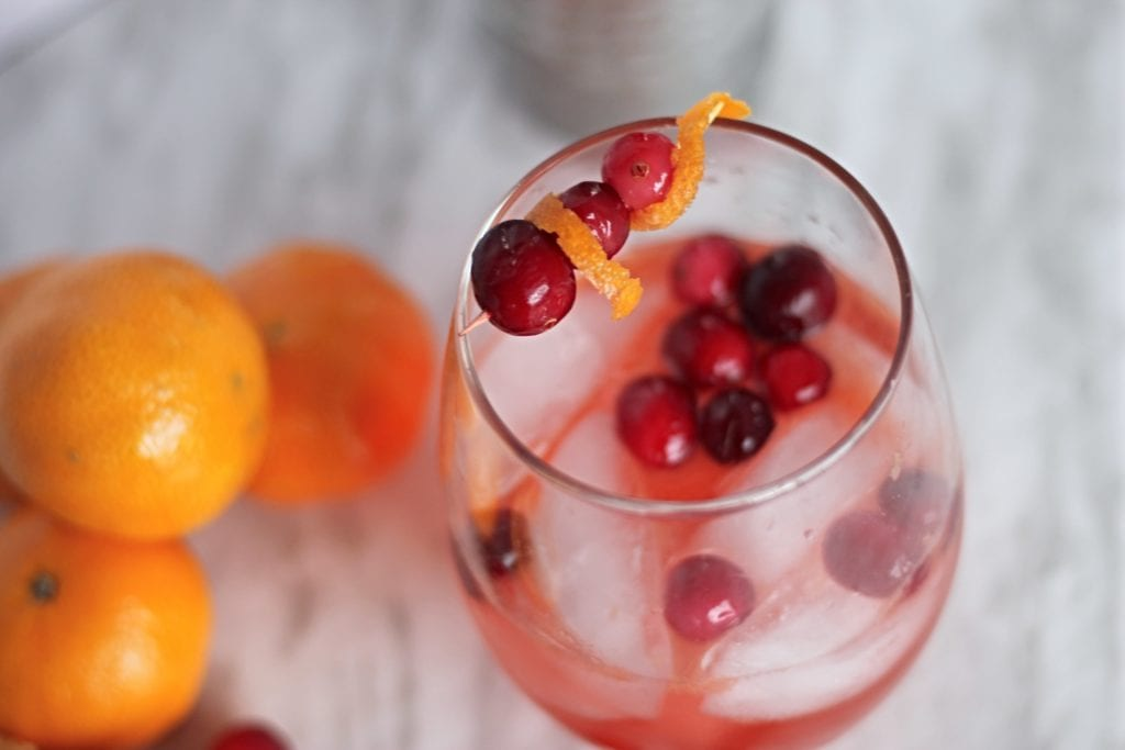 clementine cranberry drink
