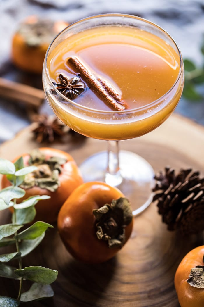 Spiced Persimmon Bourbon