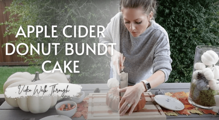 Apple Cider Donut Cake VIDEO: In the Kitchen with Kids