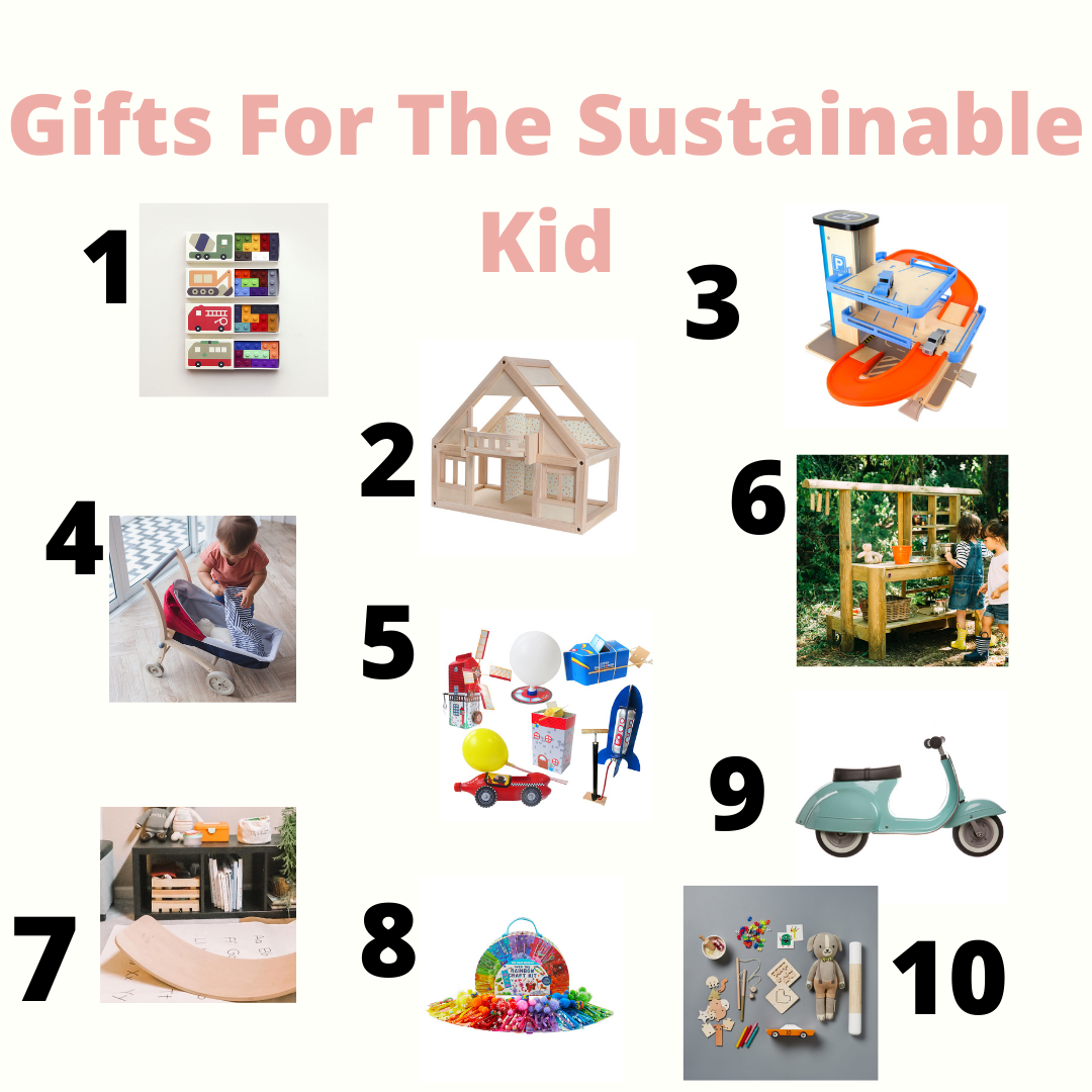 Sustainable Kids gift guide