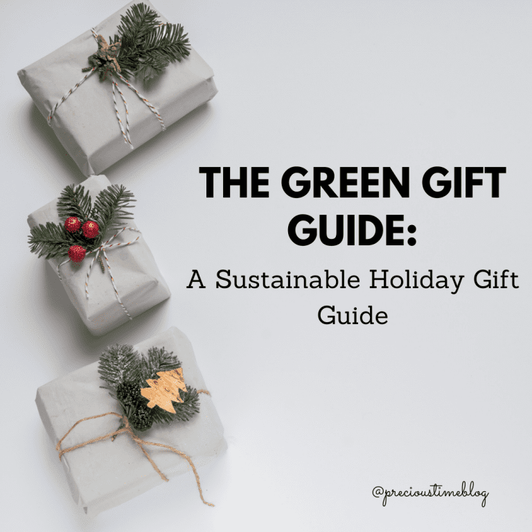 The Gift of Green: A Sustainable Holiday Gift Guide
